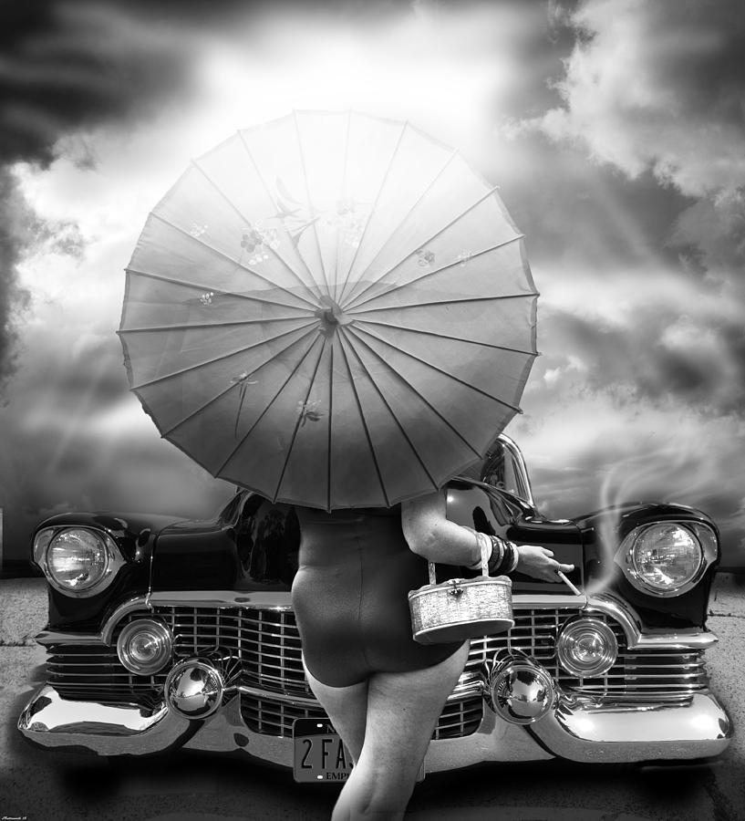 Surrealism Digital Art - Queen Of The Highway  by Larry Butterworth