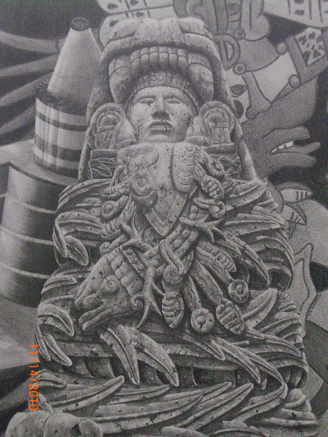 quetzalcoatl aztec drawing - photo #17