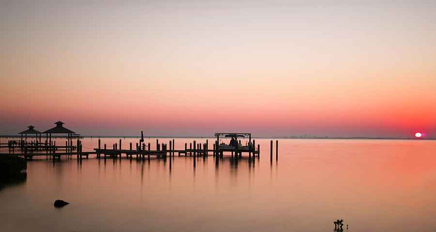 Safety Harbor Photograph - Quiet Morning by Todd Rogers
