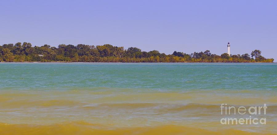 Canon Photograph - Racine Lakefront by Ricky L Jones