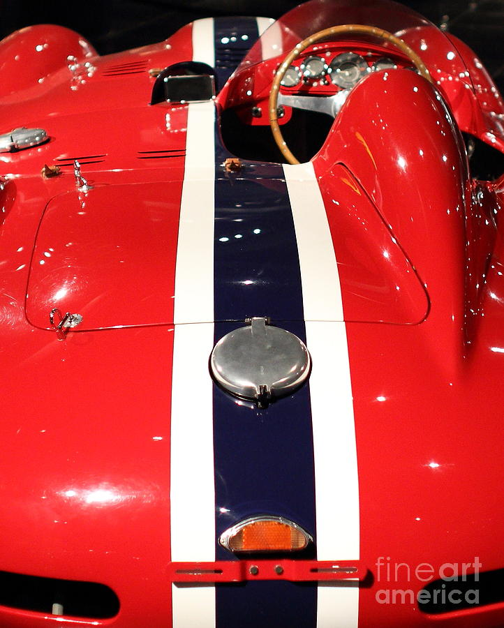 Ferrari Photograph - Racing Stripes by Wingsdomain Art and Photography