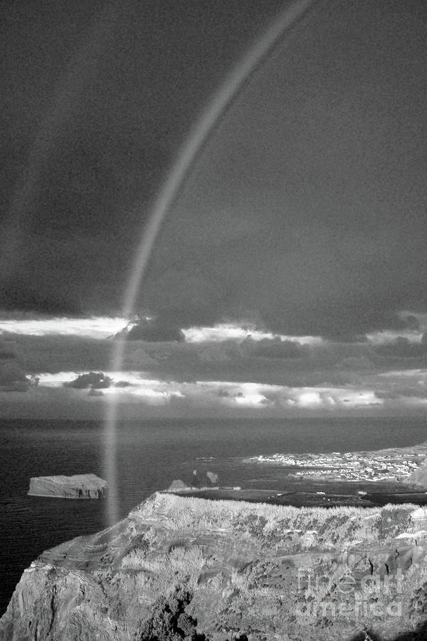 Landscape Photograph - Rainbow 1 by Gaspar Avila