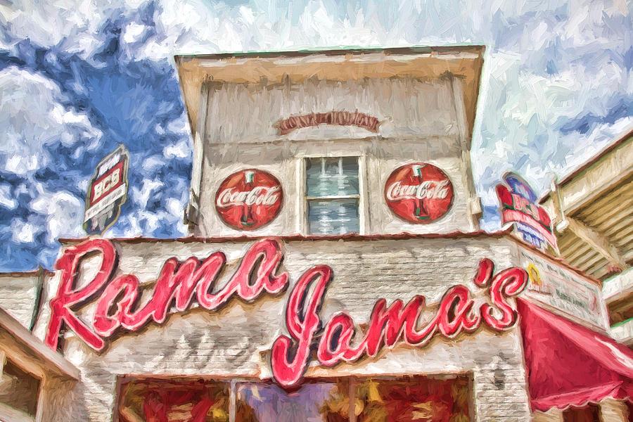 Coke Photograph - Rama Jamas by Scott Pellegrin