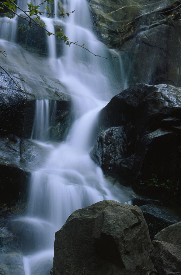 Waterfall Photograph - Rancho Sierra Vista 5 by Soli Deo Gloria Wilderness And Wildlife Photography