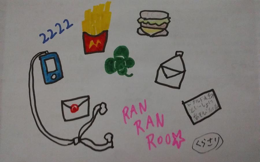 Ranranroo Drawing by Sari Kurazusi