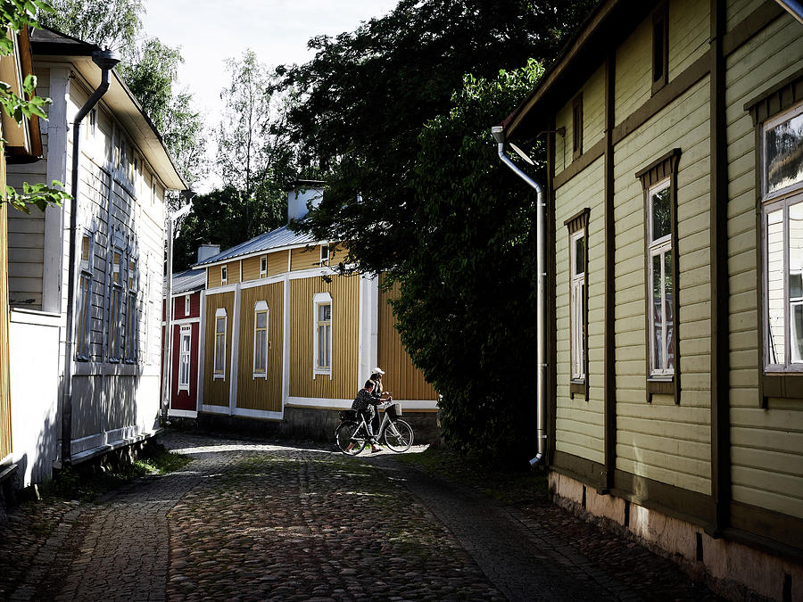 Nokia Photograph - Rauma Old Town by Jouko Lehto