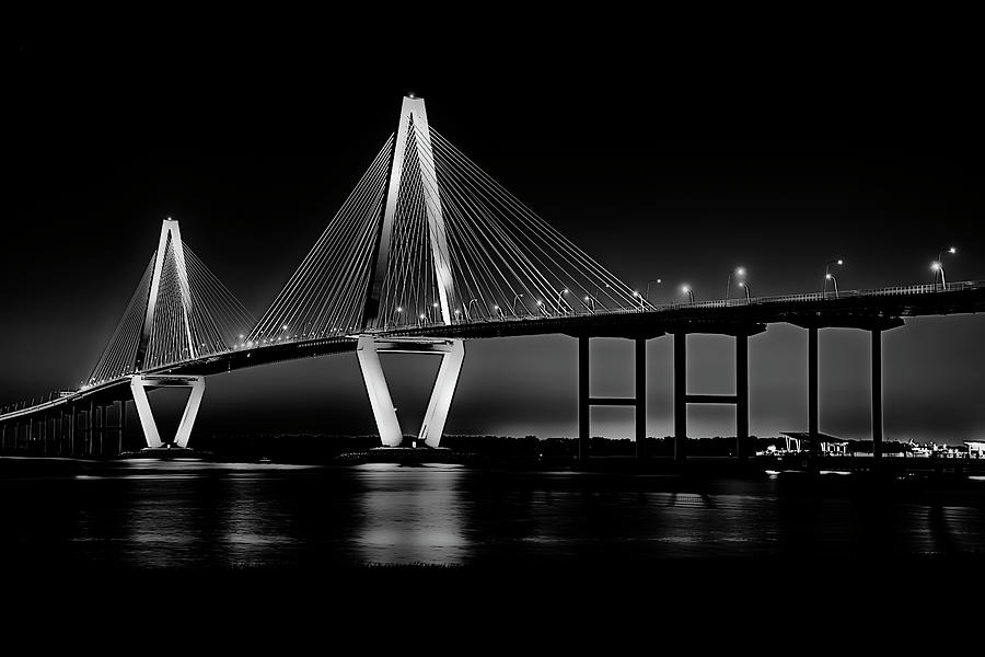 Arthur Ravenel Photograph - Ravenel Bridge by Bill Barber
