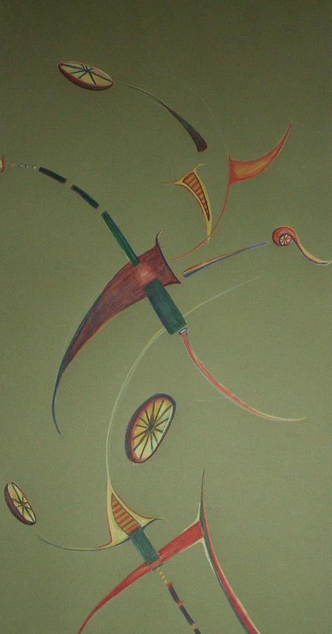 Abstract Drawing - Reason 2 by Jaye Beaton