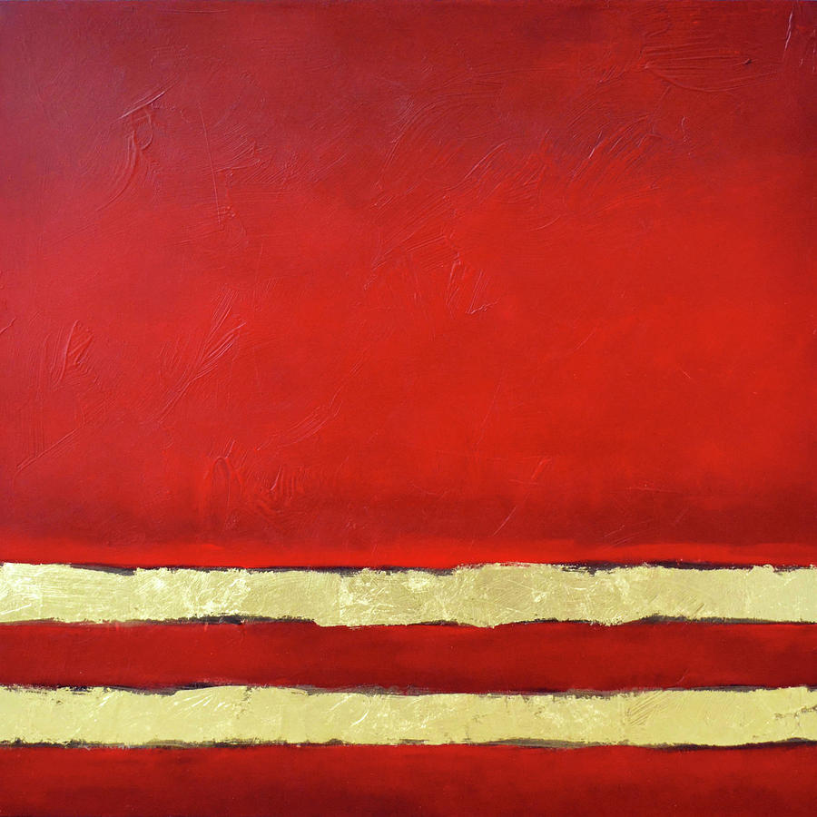 Red Painting - Red Dawn by Filomena Booth