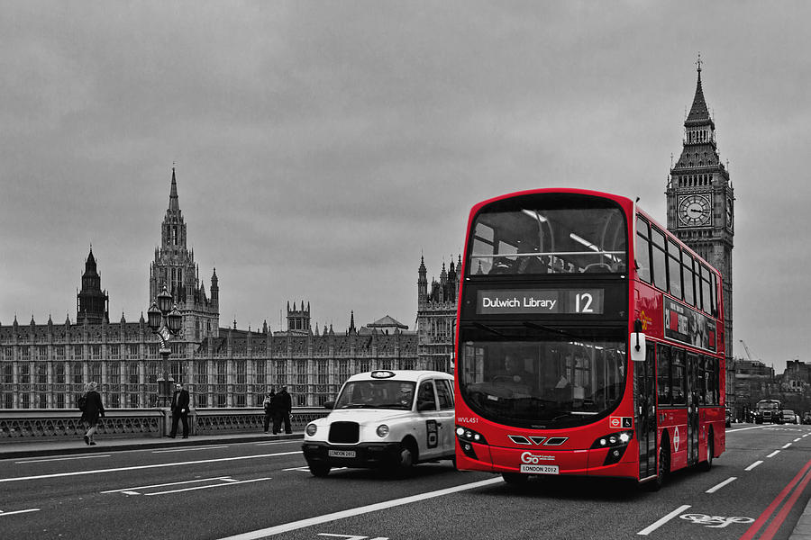 Red London Bus Photograph By Alice Gosling