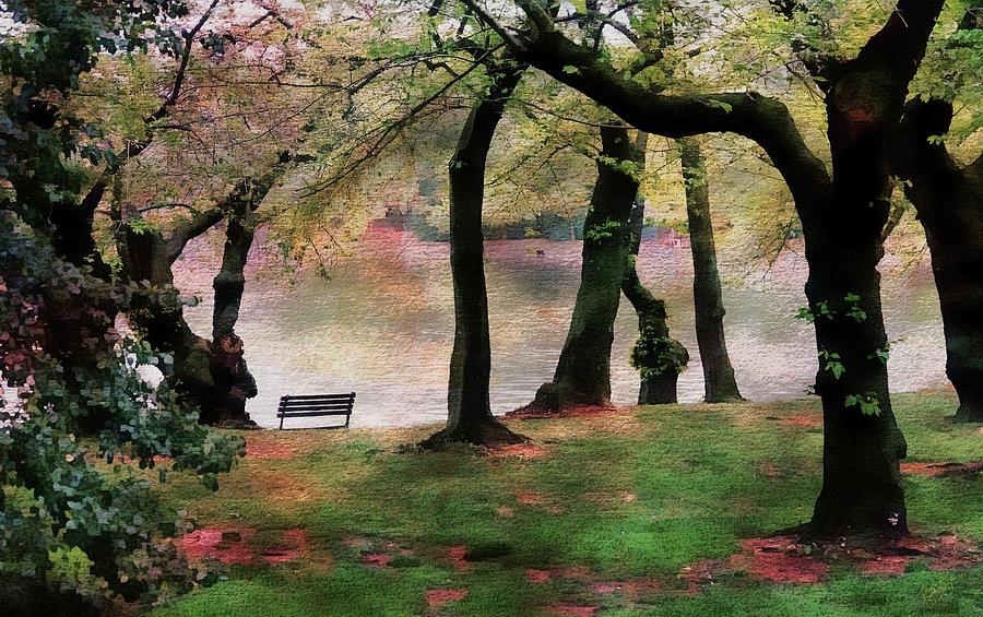 Park Photograph - Rendezvous by Rick Lawler