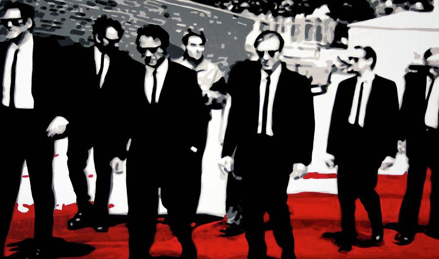 Harvey Keitel Painting - Reservoir Dogs by Luis Ludzska
