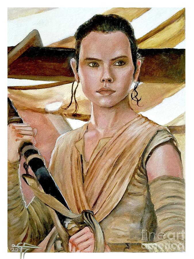 Rey by Tom Carlton
