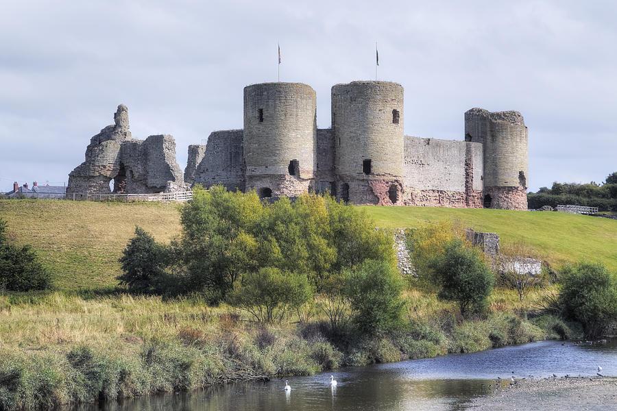 Rhuddlan Castle Photograph - Rhuddlan Castle - Wales 1 by Joana Kruse