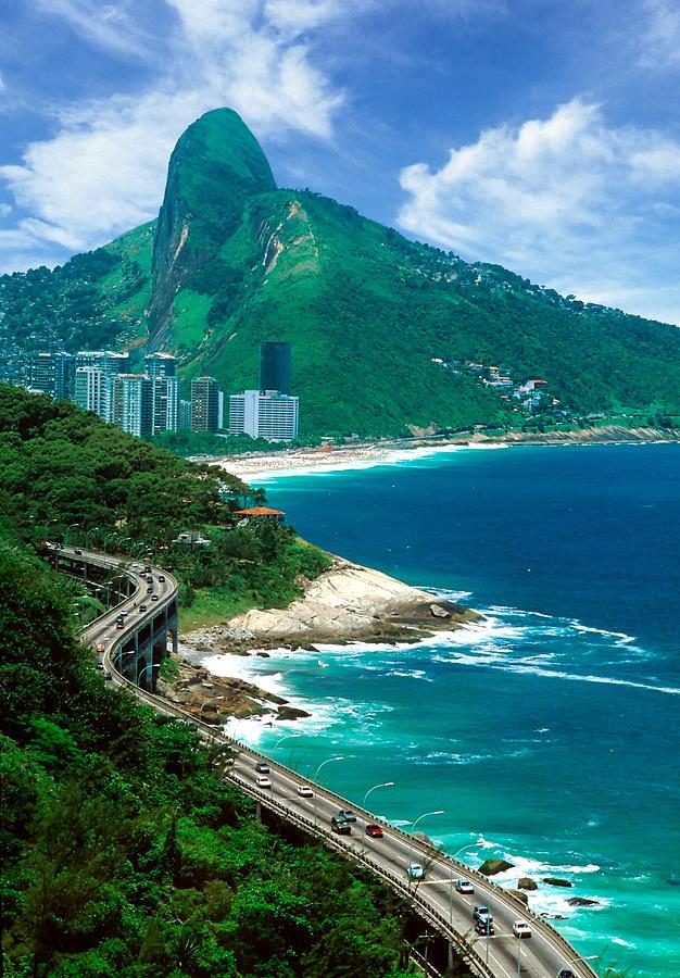 Photograph Photograph - Rio De Janeiro Brazil by Utah Images
