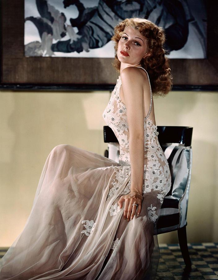 Hayworth Photograph - Rita Hayworth, Ca. 1940s by Everett