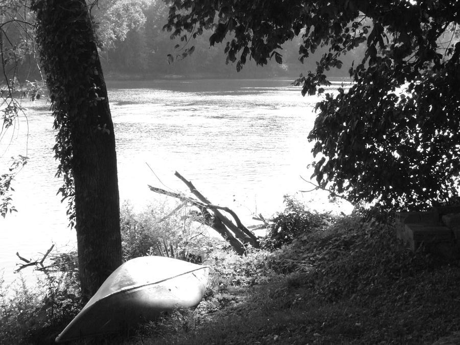 River Photograph - River Bank by Michael L Kimble