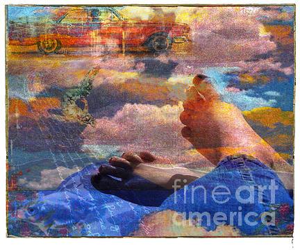 Road Trip Digital Art - Roadtrip by Marti Wedewer