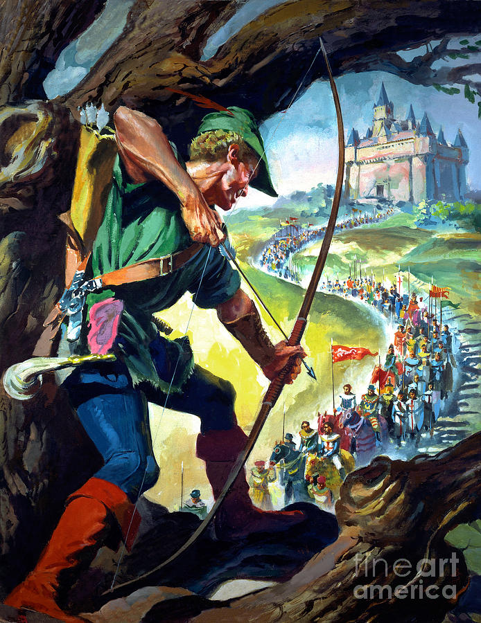 Robin Hood Painting By James Edwin Mcconnell