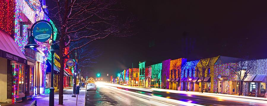 Rochester Christmas Light Display Photograph by Twenty Two North ...