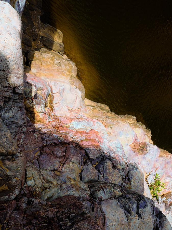 Series Photograph - Rock Abstracts Of Ormiston Gorge #17 by Lexa Harpell