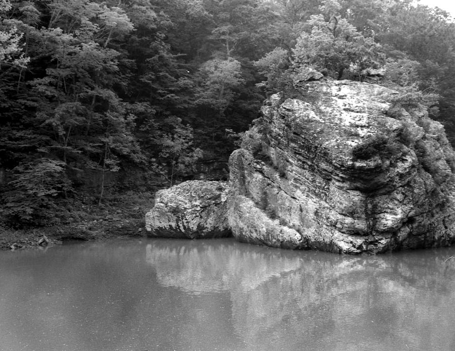 Ansel Adams Photograph - Rock by Curtis J Neeley Jr