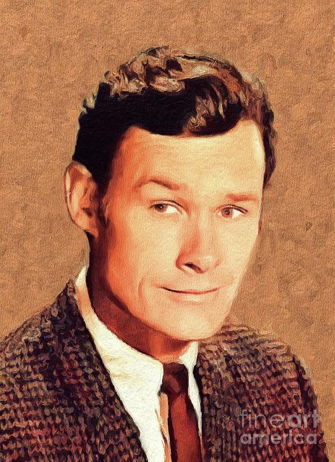 Ron Painting - Ron Hayes, Vintage Actor by John Springfield