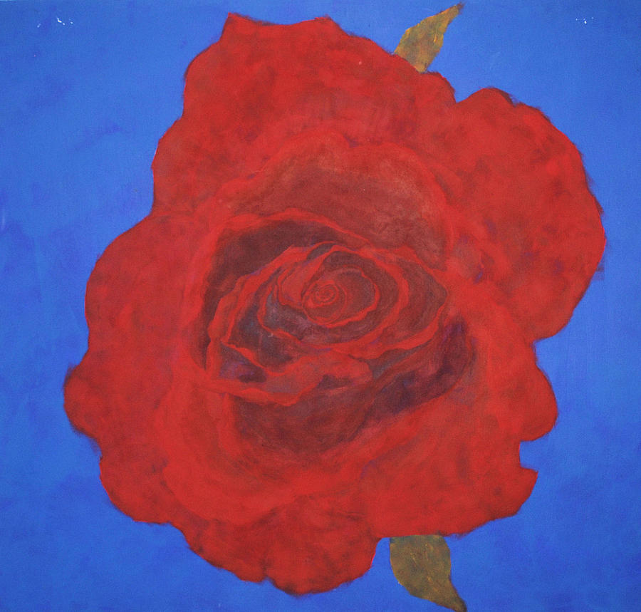 Rose Painting - Rose by Sirpa Mononen