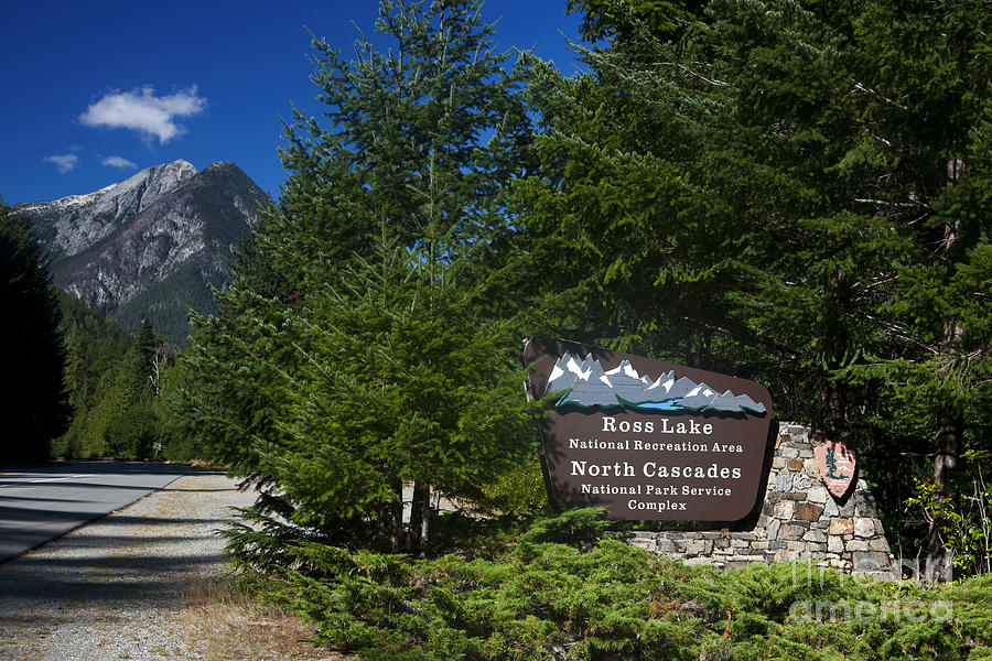 Ross Lake National Recreation Area And North Cascades National Park Photograph