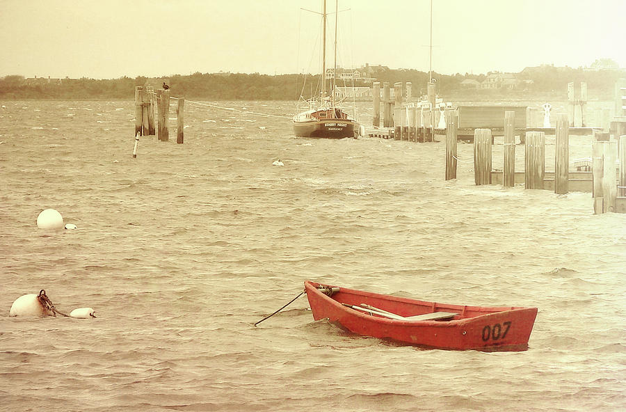 Nantucket Photograph - Rough Seas by JAMART Photography