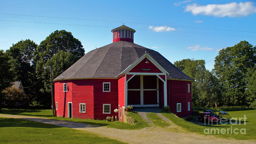 Round Barn by Scenic Vermont Photography