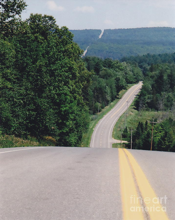 Maine Photograph - Route 6 by Lewis Lowell