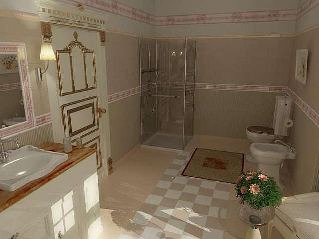 Royal Bath And Vanity For Presidential Hotel Suit Designed By Walid Fahmi Drawing by Walid Fahmy