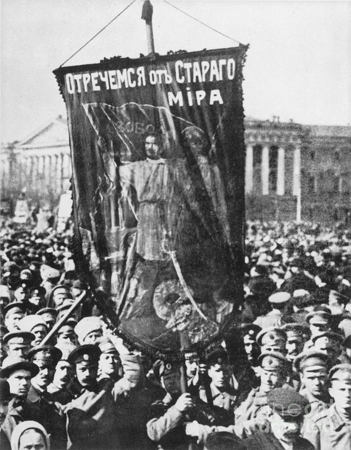 1917 Photograph - Russia: Revolution Of 1917 by Granger