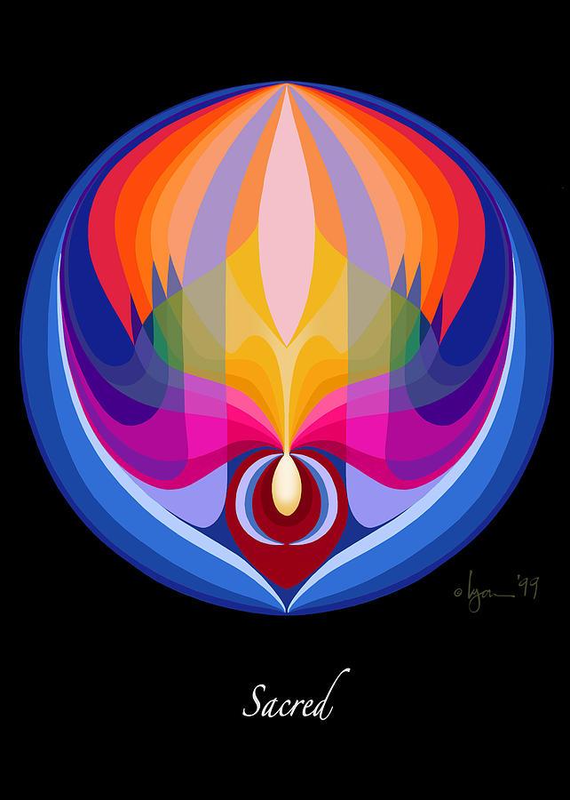 Mandalas Painting - Sacred by Angela Treat Lyon