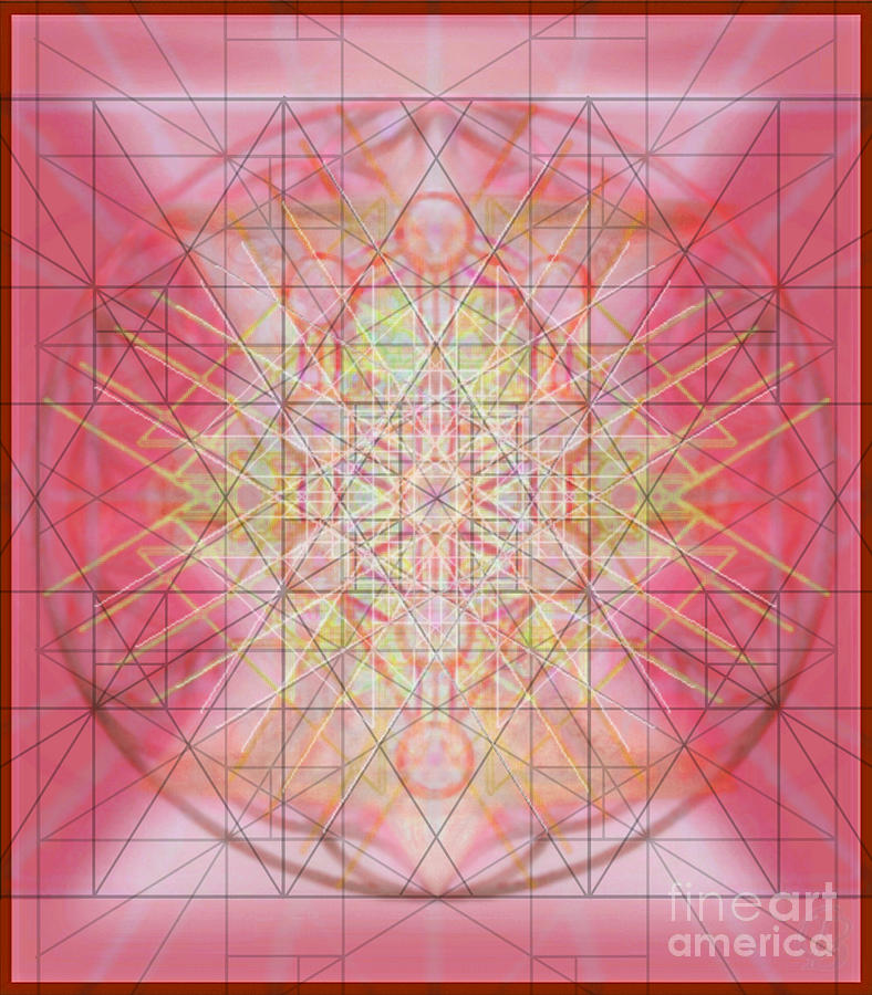 Tree Of Life Digital Art - Sacred Symbols Out Of The Void 1b by Christopher Pringer