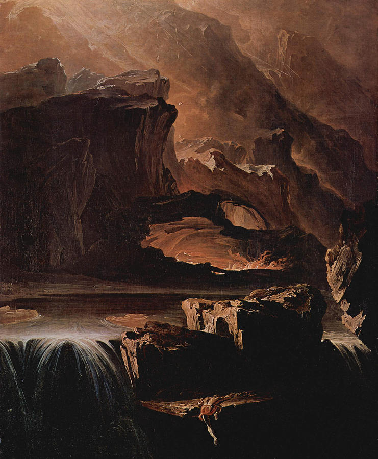 Sadak And The Waters Of Oblivion by John Martin
