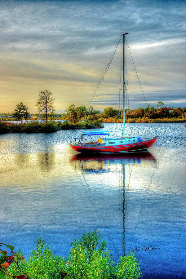 Sailboat by Don Schiffner