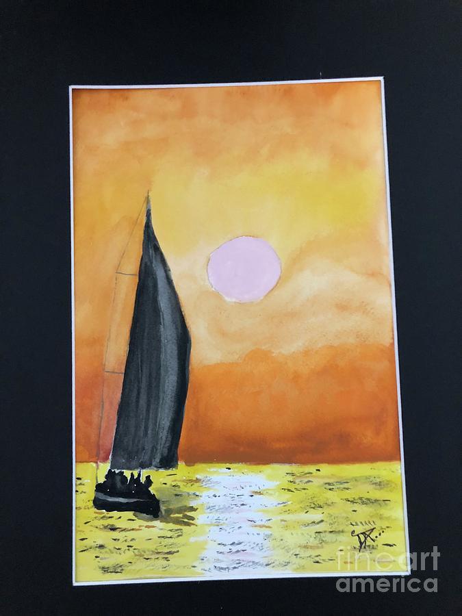 Sailing by Donald Paczynski