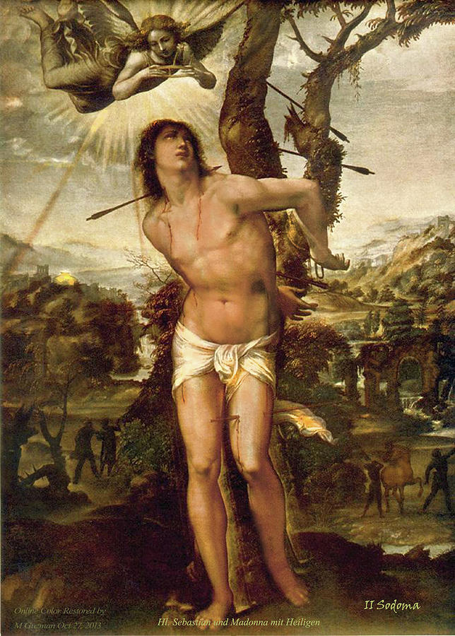 Saint Sebastian by Il Sodoma