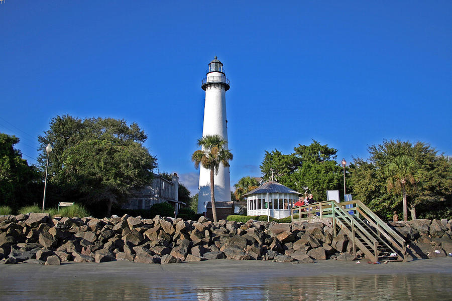 Water Photograph - Saint Simons Island by David Campbell