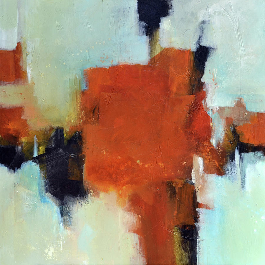 Abstract Painting - Salsa by Filomena Booth