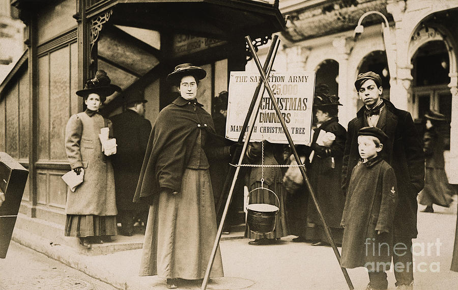 1908 Photograph - Salvation Army, 1908 by Granger
