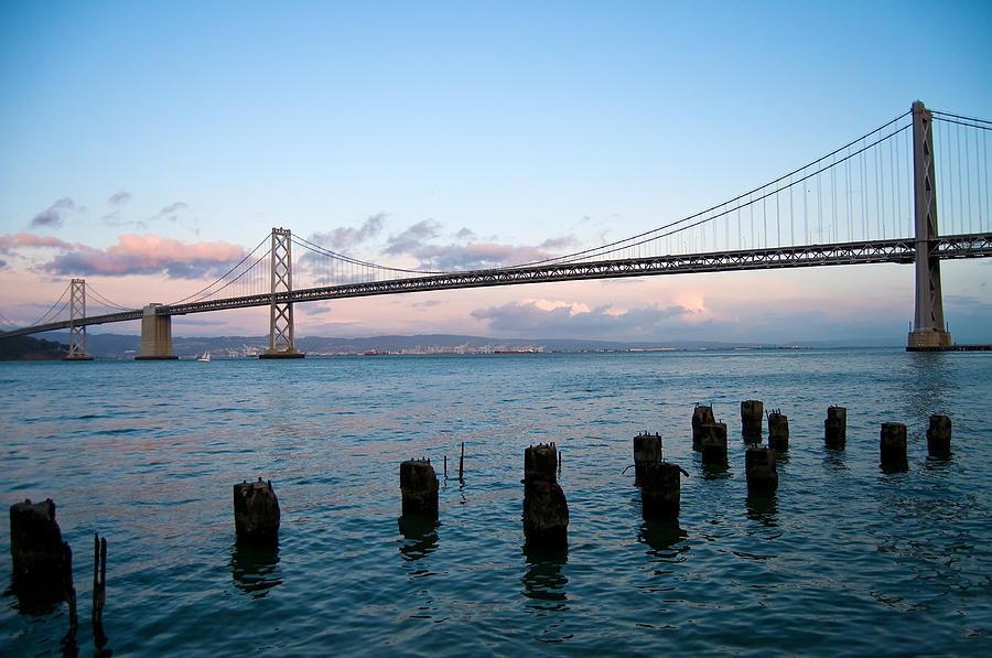 San Francisco Photograph - San Francisco Bay Bridge by Mandy Wiltse