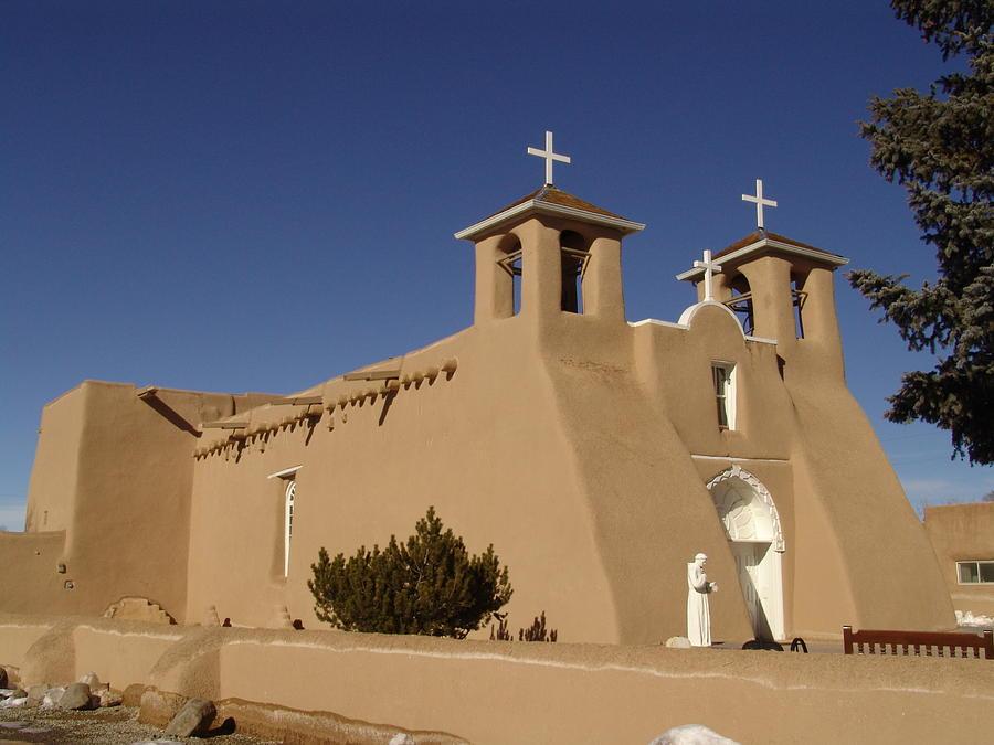 Church Photograph - San Francisco De Asis Mission Church by Carol Milisen