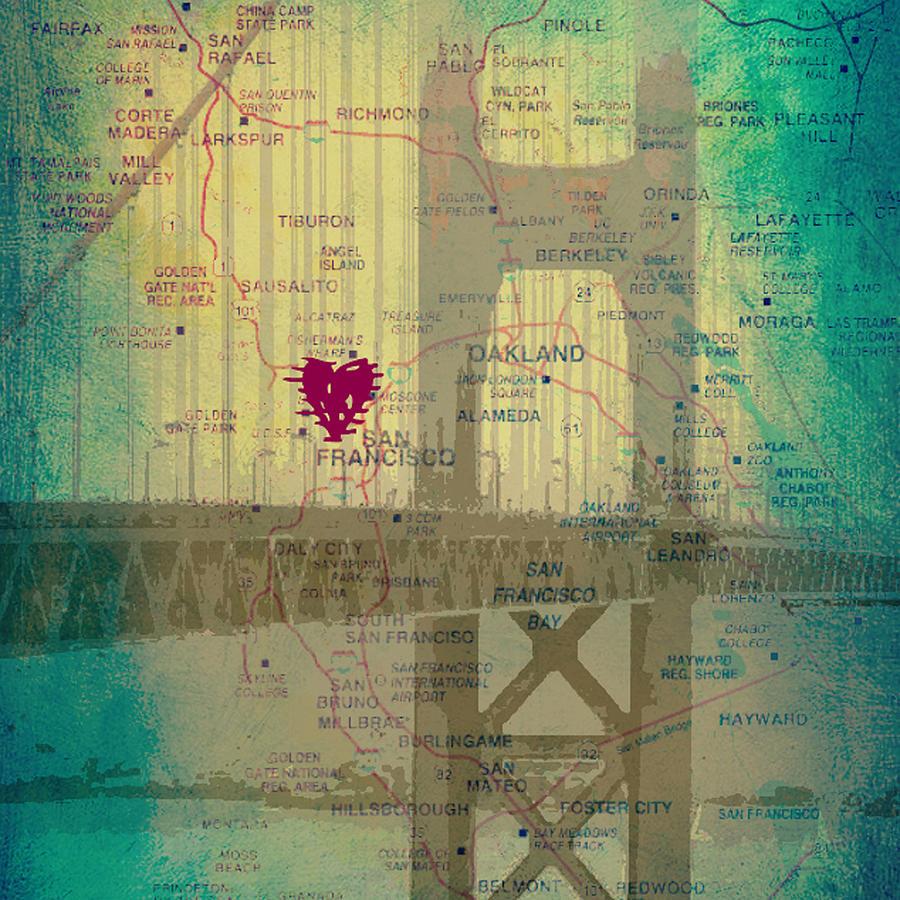 San francisco hearts map