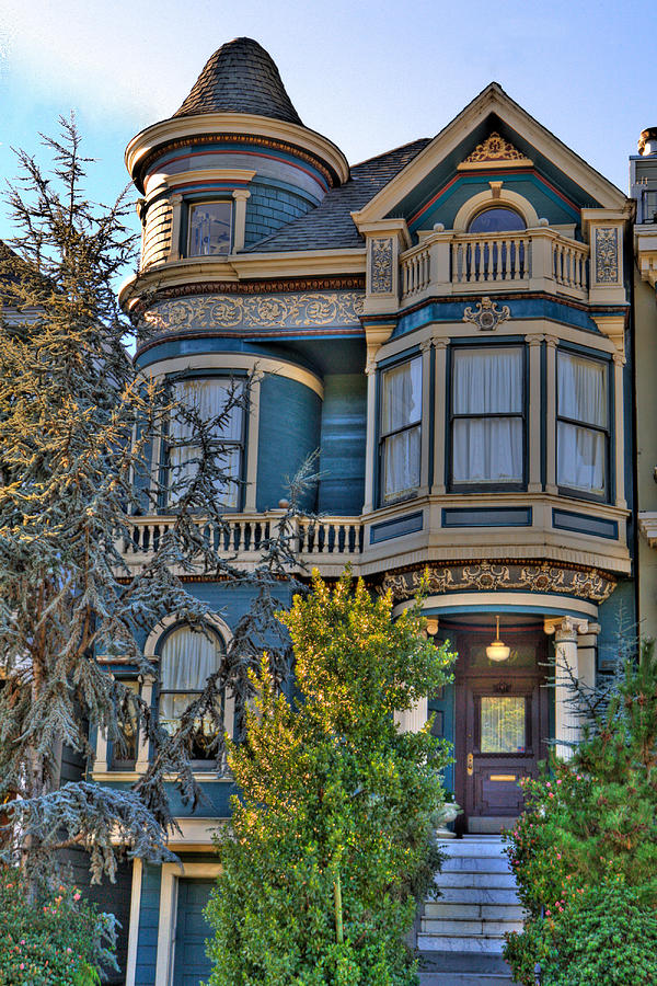 San Francisco Photograph - San Francisco Victorian by Paul Owen