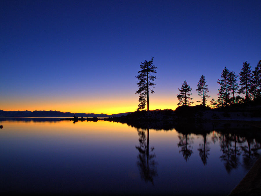 Sand Harbor Sunset by Martin Gollery