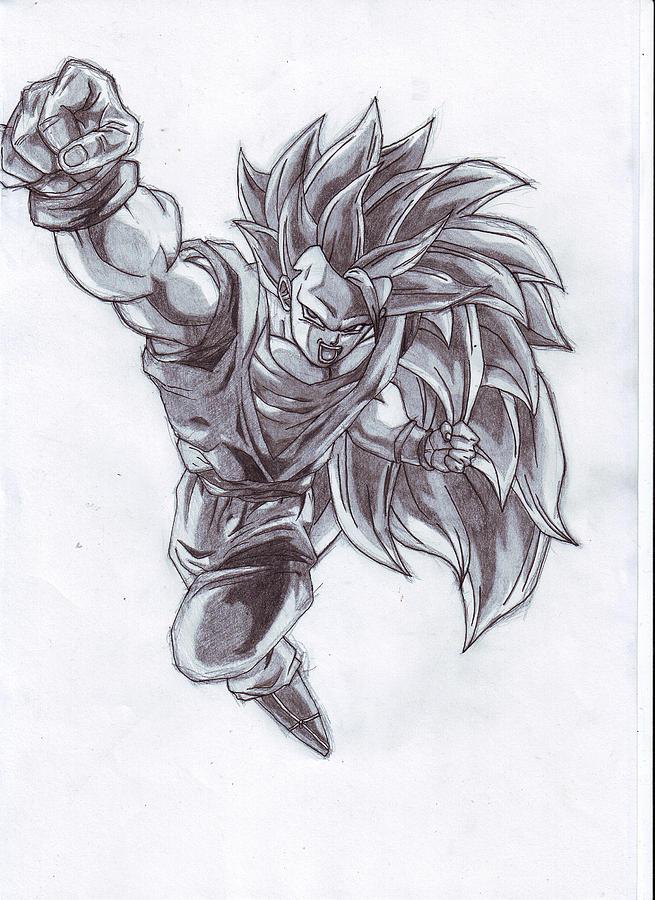 Sangoku 3 Drawing by Venance Motema