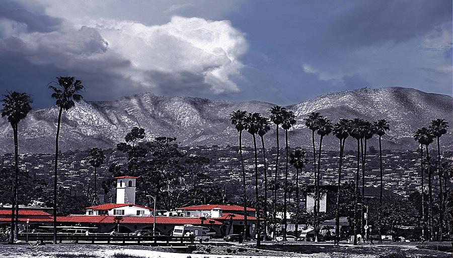 Santa Barbara Panorama by Danuta Bennett